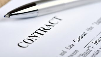 An unsigned contract